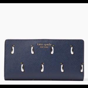 Kate Spade Penguin Medium Bifold Wallet